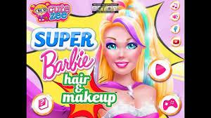 makeup best barbie makeover games
