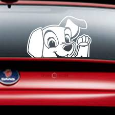 Dropshipping For Cartoon Animals Cute Dog Car Sticker Dog Say Hello Decals For Kids Nursery Room To Sell Online At Wholesale Price Dropship Website Chinabrands Com