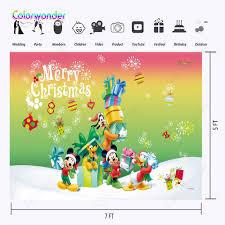 Chuột Mickey và Vịt Donald Mùa Đông Ảnh Nền Giáng sinh vui vẻ ...