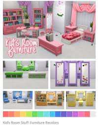 Kid S Room Furniture Kids Stuff Pack By Nodelscc Via Tumblr Sims 4 Ts4 I Maxis Match Sims 4 Children Sims 4 Toddler Sims 4 Cc Furniture Living Rooms