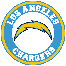 Los Angeles Chargers Circle Logo Vinyl Decal Sticker 5 Sizes Sportz For Less