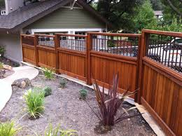 Decorative Fence Panel Inserts Backyard Fences Modern Fence Fence Landscaping