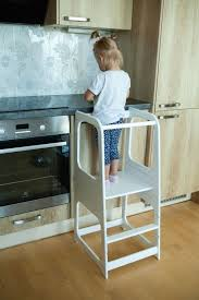 Kitchen Helper Tower Kitchen Stool Safety Stool Toddler Step Stool Kid Step Stool Activity Tower Montessori Tower Stepping Stool Kitchen Stools Kitchen Helper Black Dining Room Chairs