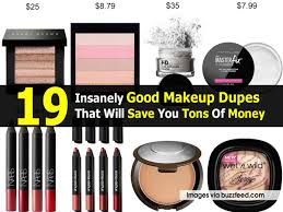 19 insanely good makeup dupes that will