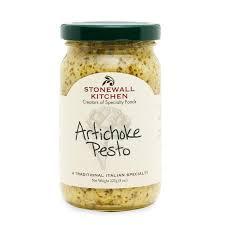 artichoke pesto sauces meal