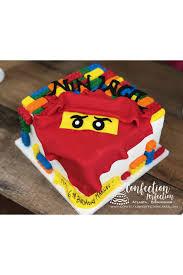 LEGO Ninjago Cake CBB-118 - Confection Perfection Cakes Online ...