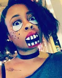 makeup tutorial scary doll