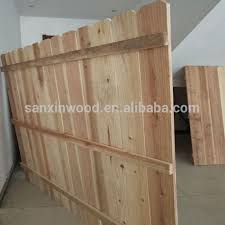 China Wooden Fence Panels China Wooden Fence Panels Manufacturers And Suppliers On Alibaba Com