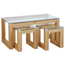 hygena cubic coffee table set with