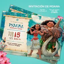 Diseno Invitacion Para Cumpleanos Moana Toy Story Frozen 69 00