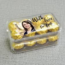 personalised ferrero rocher chocolate