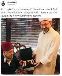 Yılmaz Özdil'den Diyanet İşleri Başkanı Erbaş'a tepki - Güncel ...