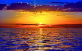 ocean sunset wallpaper waves ocean