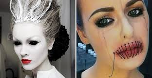 37 scary face halloween makeup ideas