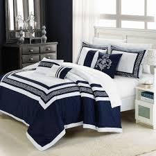 venice 7 piece comforter set blue