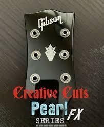 Gibson Crown Ii Headstock Decal Mop Premium Vinyl Decal Inlay Version 2 Ebay