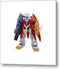 Digimon Metal Print By Rosie Jasmine