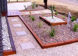 landscaping ideas on a budget the front