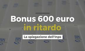 Lunedì 20 aprile l'accredito di molti bonus 600 euro INPS ...
