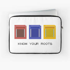 Know Your Roots | Minimalist Pokemon Game Cartridges