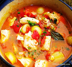 Recipe: Spicy Fish Stew with Sherry ...