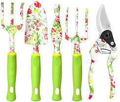 com vanow garden tools set 5