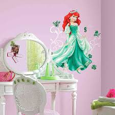 Disney Princess Ariel Giant Peel And Stick Wall Decals Buybuy Baby