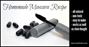 easy homemade mascara recipe
