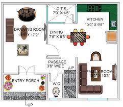 floor plan for 30 x 25 feet plot 2