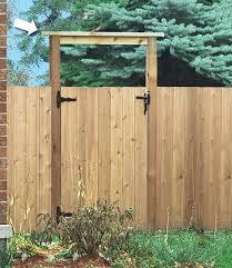 Hamilton Gate Wood Gates Products Fence All Ottawa
