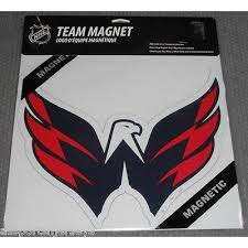 Nhl 12 Inch Auto Magnet Washington Capitals Alt Logo All Sports N Jerseys