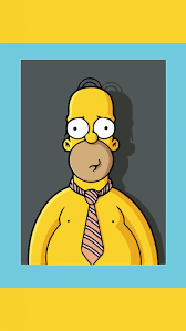 wallpaper s7 edge homer simpson