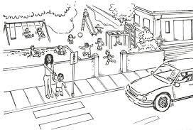 Tranh tô màu biển báo giao thông cho bé 6 tuổi - Lương Ngọc Anh INFO