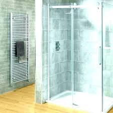 best way to clean shower glass door