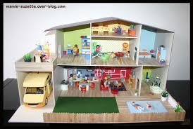 maison playmobil fait main en