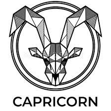 capricorn zodiac sign geometric gift