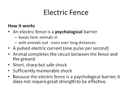 Electric Fence How It Works Ppt Video Online Download