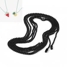 ball chain necklace black 59cm 23