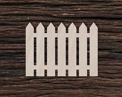 Picket Fence Decor Etsy