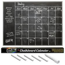 Chalk To Me S Monthly Chalkboard Wall Decal Calendar Wish