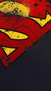 superman logo hd android wallpaper