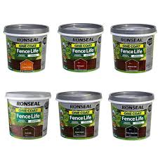 Ronseal One Coat Fence Life Uk Ronseal Fence Paint Yorkshire Trading Company