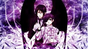 ilration anime black butler