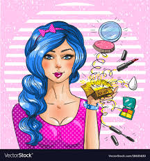 vine pop art royalty free vector image