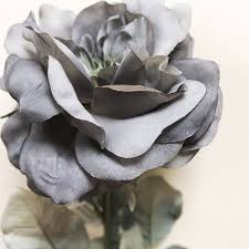 Myra Grey Artificial Rose   Harry Corry Limited