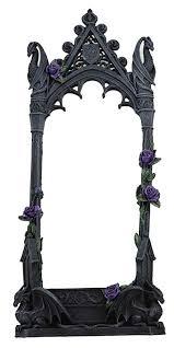 ebros large purple rose gothic guardian