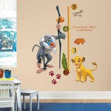 The Lion King Wall Decals Roommates Decor
