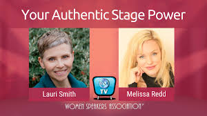How To Step Into Your Authentic Stage Power | Women Speakers ...