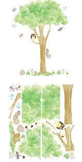Treehouse Wall Art Sticker Kit