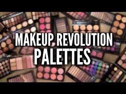 makeup revolution palettes best worst